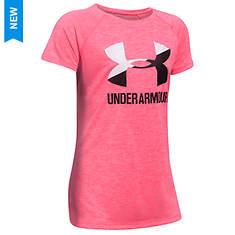 Under Armour Girls' Novelty Big Logo SS Tee
