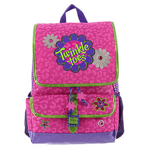 Skechers Girls' Twinkle Toes: Fab Floral Backpack