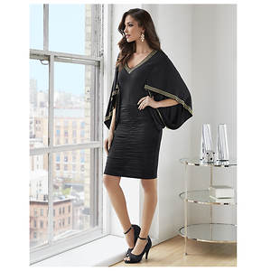 Cocoon Ruched Dress