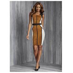 Color Block Ultra Suede Dress