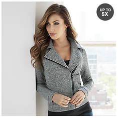 Heathered Knit Jacket