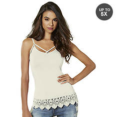 Strappy Lace-Trimmed Cami