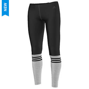 Adidas Women's 3 Stripe Crew Legging