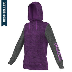 Adidas Women's Team Issue Crazy Horse Print Fleece Hoodie