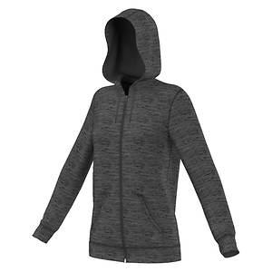 Adidas Women's 3-Stripe Full Zip Hoodie