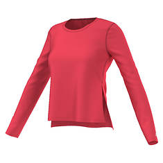 Adidas Women's Ultimate Long Sleeve Side Slit Tee
