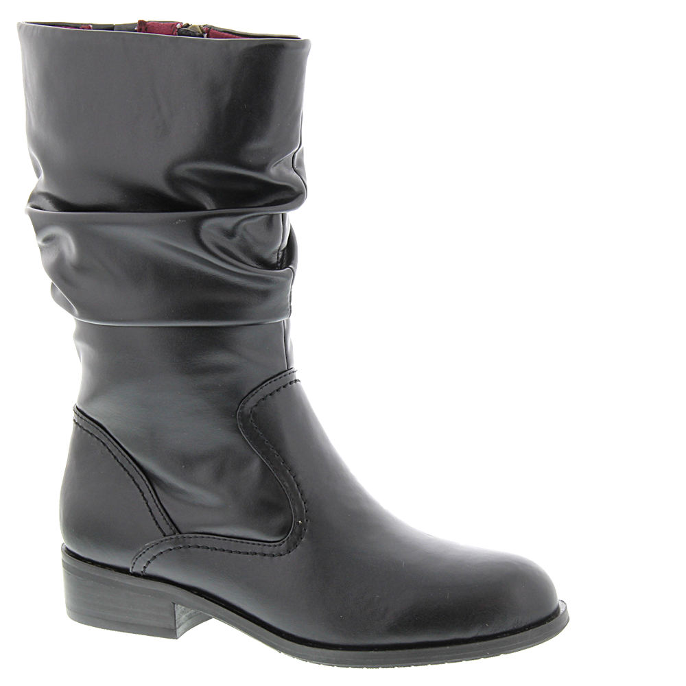 1980s Clothing, Fashion | 80s Style Clothes ARRAY Jennifer Womens Black Boot 6.5 W $43.99 AT vintagedancer.com