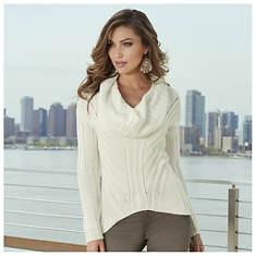 Hi-Lo Cowl Sweater