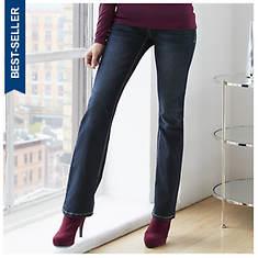 K. Jordan Dark Wash 5-Pocket Jeans
