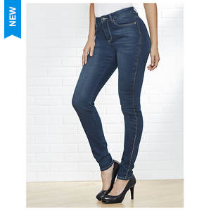 Chain Skinny 5-Pocket Jeans