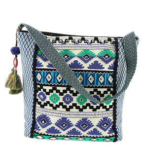 Steven Alyson Embroidered Hobo Bag