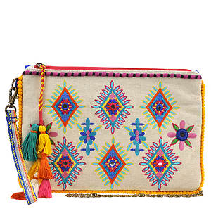 Steven By Steve Madden Elli Embroidered Wristlet Crossbody Bag
