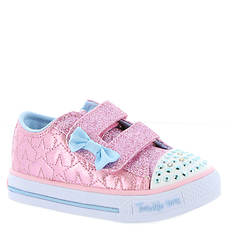 Skechers Twinkle Toes Shuffles Starlight Style (Girls' Infant-Toddler)