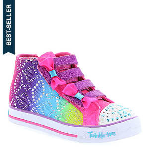 Skechers Twinkle Toes: Shuffles 10636N (Girls' Infant-Toddler)