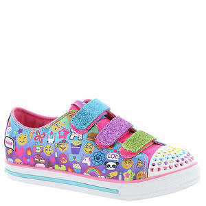 Skechers Twinkle Toes: Shuffles-Chit Chat 10633L (Girls' Toddler-Youth)