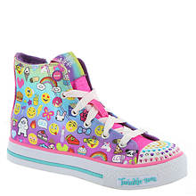 Skechers Twinkle Toes Shuffles Chat Time (Girls' Toddler-Youth)