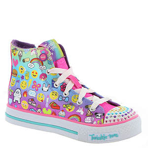 Skechers Twinkle Toes: Shuffles-Chat Time (Girls' Toddler-Youth)