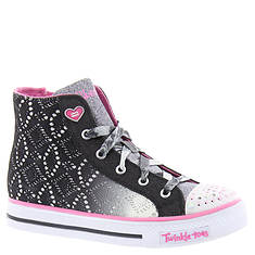 Skechers Twinkle Toes Shuffles Magic Madness (Girls' Toddler-Youth)