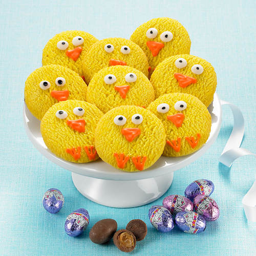 Easter Chick Cookies and Treats
