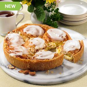 Almond Custard Coffee Cake