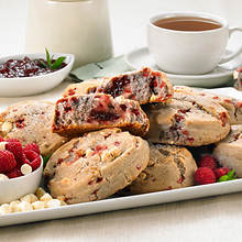 Scrumptious Scones - Raspberry White Chocolate