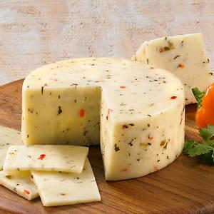 Adventures in Cheese - Garden Veggie Jack