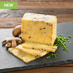 Adventures in Cheese - Abergele Mushroom Chive