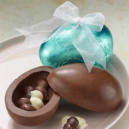 Chocolate Egg & Chicks