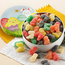 Easter Snackin' Favorites - Jelly Rabbits & Chicks