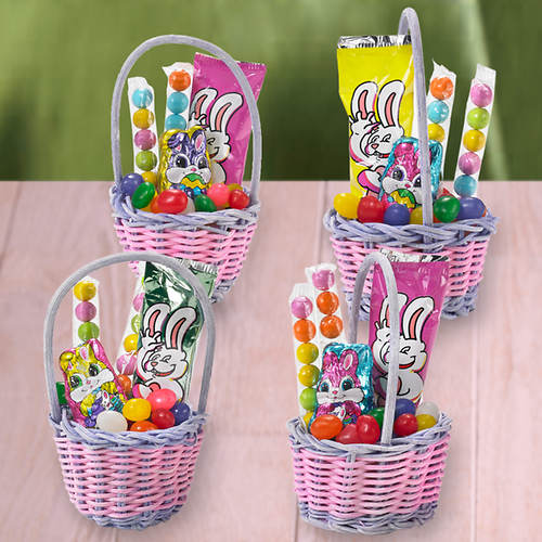Mini easter gift baskets flavor out of stock figis gifts in mini easter gift baskets negle Images