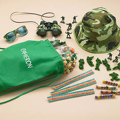 Personalized Army Action Play Set