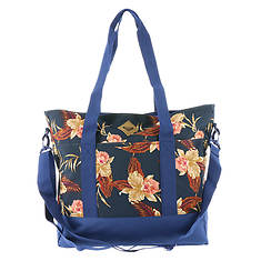 Roxy Blue Bird Tote Bag