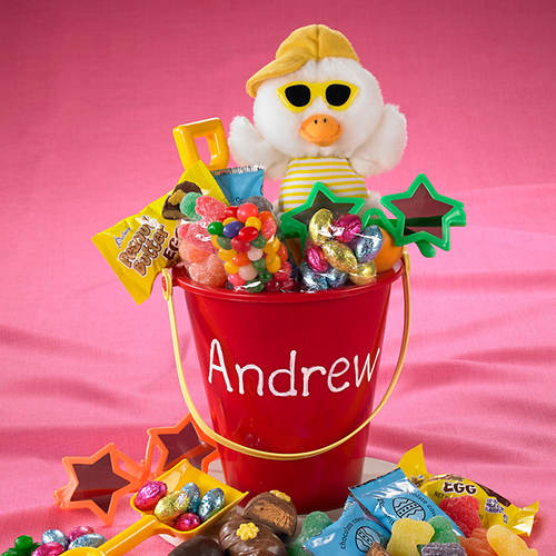 Personalized Easter Treat Pails