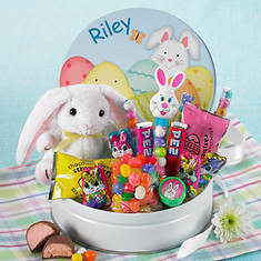 Personalized Bunny Tin