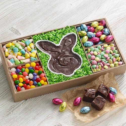 Easter Fudge Bunny