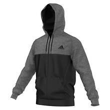 Adidas Men's Team Issue Fleece Block FZ Hoodie