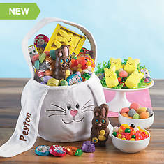 Personalized Bunny Basket & Candy To-Go