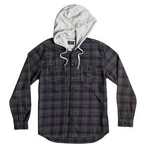 Quiksilver Snap Up LS Hooded Shirt