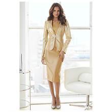 Gilded Chevron Suit