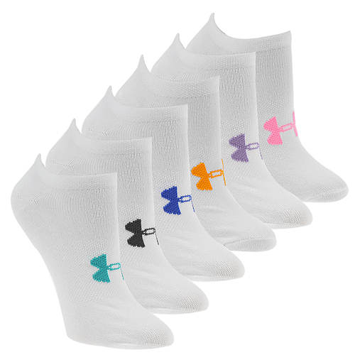 Under Armour Women's Essential No Show Socks