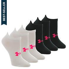 Under Armour Women's Essential No-Show Socks