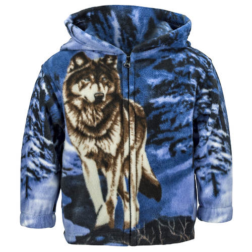 Kids' Trail Crest Animal-Print Fleece Jacket