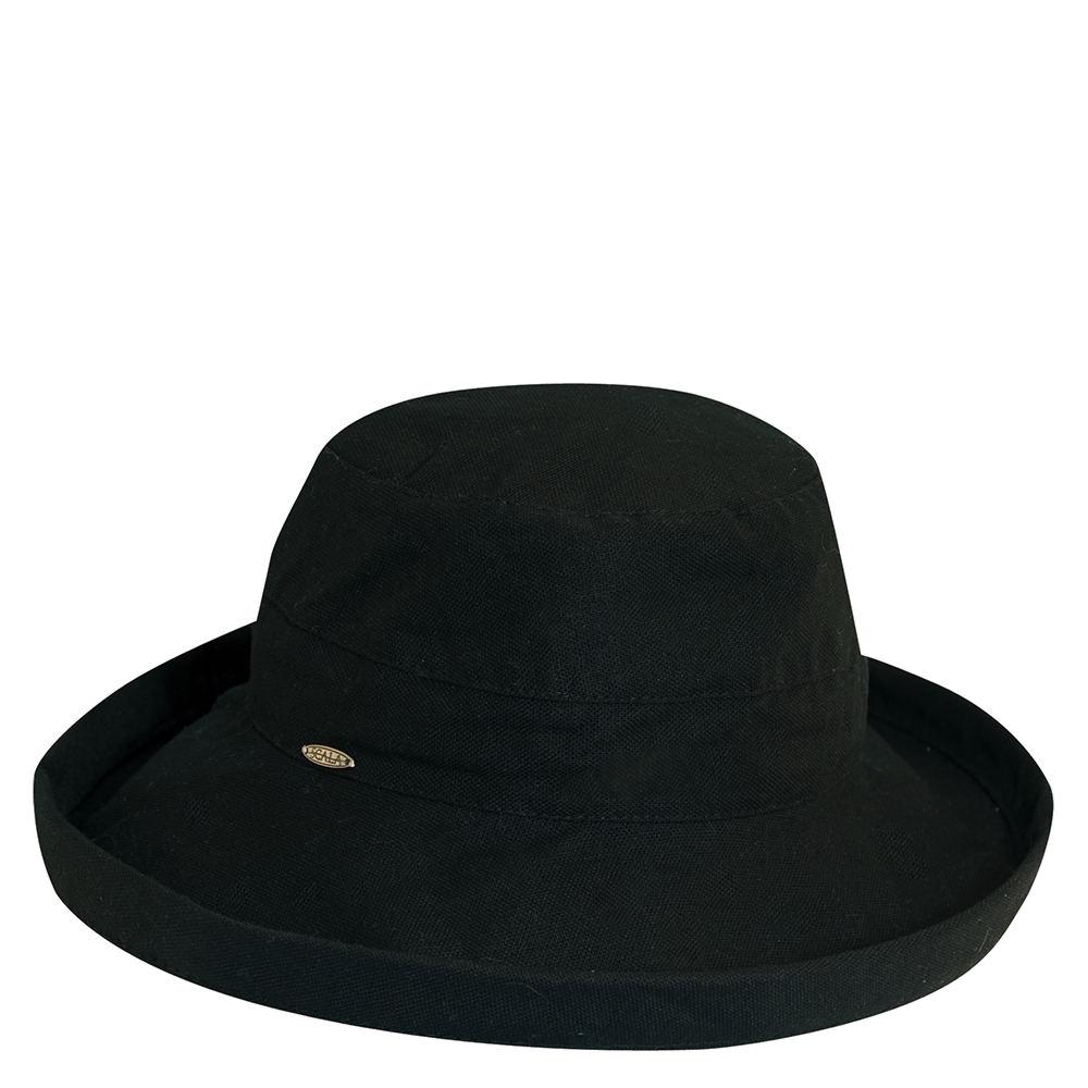 48feca48 Details about Scala Collezione Women's Cotton Brim Hat