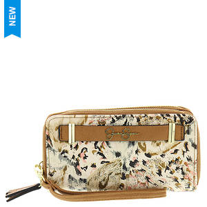 Jessica Simpson Hanne Double Zip Around Wallet