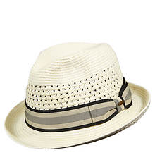 Scala Classico Men's Open Weave Paper Fedora