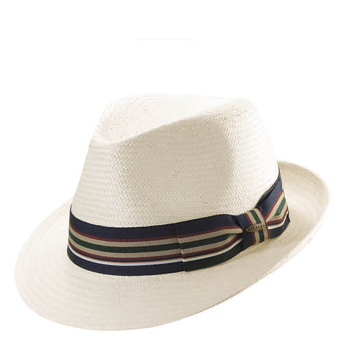 Scala Classico Men's Toyo Stripe Ribbon Fedora