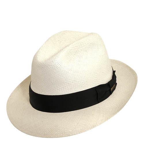 Scala Panama Men's Snap Brim Fedora