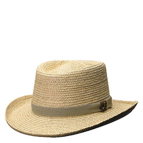 Scala Pro Series Men's Raffia Golf Gambler Hat