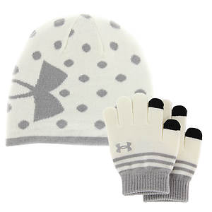 Under Armour Girls' Beanie and Glove Combo