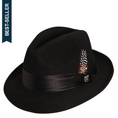 Stacy Adams Men's Wool Felt Fedora